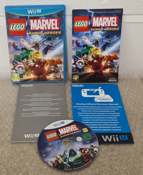 Lego Marvel Super Heroes Nintendo Wii U Game