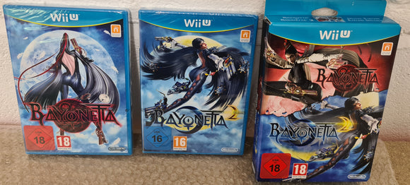 Brand New and Sealed Bayonetta 1 & 2 Special Edition Nintendo Wii U Game