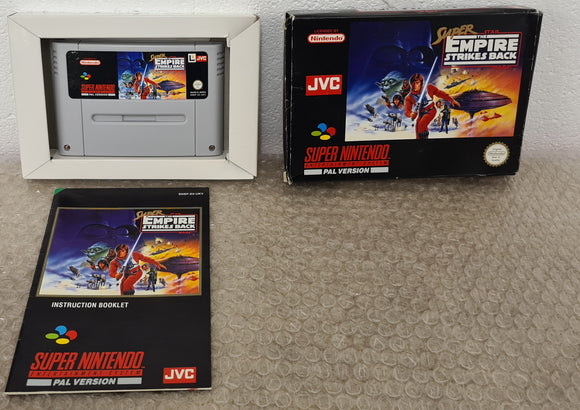 Super Star Wars the Empire Strikes Back Super Nintendo Entertainment System (SNES) Game