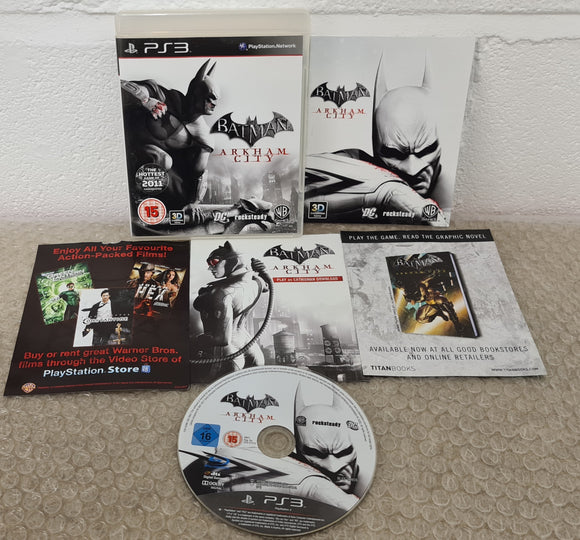 Batman Arkham City Sony Playstation 3 (PS3) Game