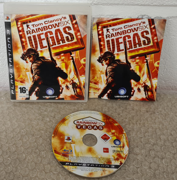 Tom Clancy's Rainbow Six Vegas Sony Playstation 3 (PS3) Game