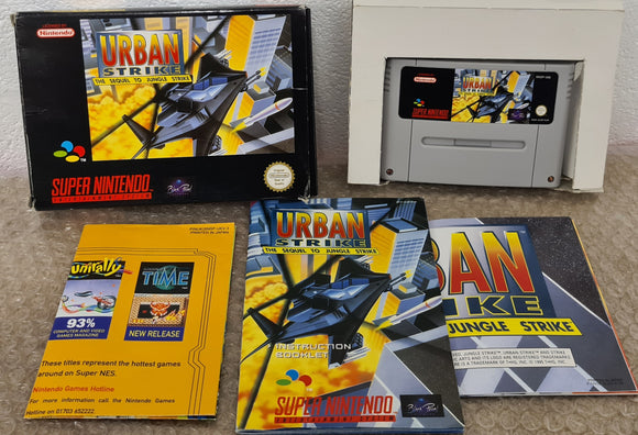 Urban Strike Super Nintendo Entertainment System (SNES) Game