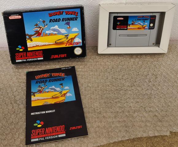 Looney Tunes Road Runner Super Nintendo Entertainment System (SNES) Game