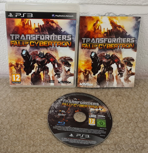 Transformers Fall of Cybertron Sony Playstation 3 (PS3) Game