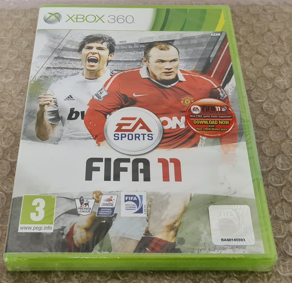 Brand New and Sealed Fifa 11 Microsoft Xbox 360 Game