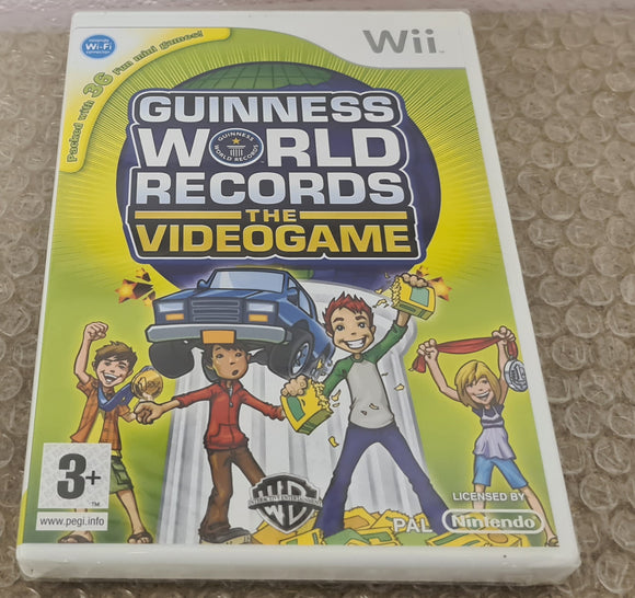 Brand New and Sealed Guinness World Records Nintendo Wii Game