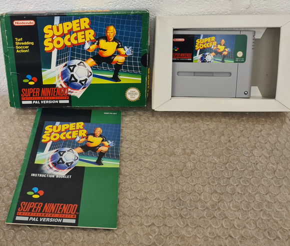 Super Soccer Super Nintendo Entertainment System (SNES) Game