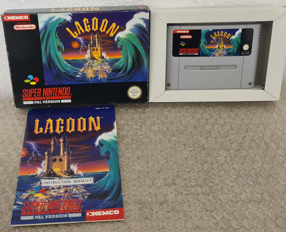 Lagoon Super Nintendo Entertainment System (SNES) Game