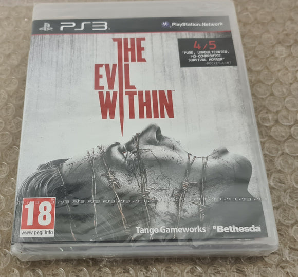 Brand New and Sealed The Evil Within Sony Playstation 3 (PS3) Game