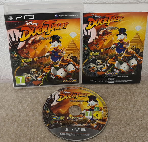 Disney DuckTales Remastered Sony Playstation 3 (PS3) Game