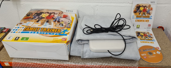 Boxed Family Trainer Nintendo Wii Game and Accessory