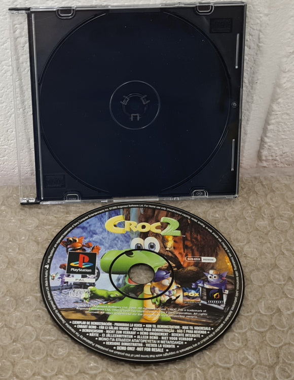 Croc 2 Sony Playstation 1 (PS1) Game Demo Disc Only