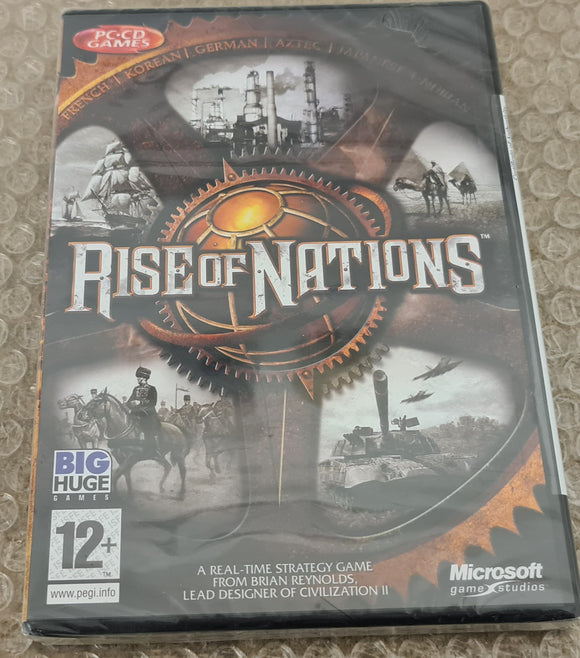 Brand New and Sealed Rise of Nations PC