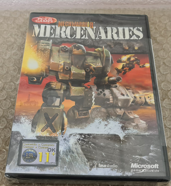 Brand New and Sealed Mechwarrior 4 Mercenaries PC