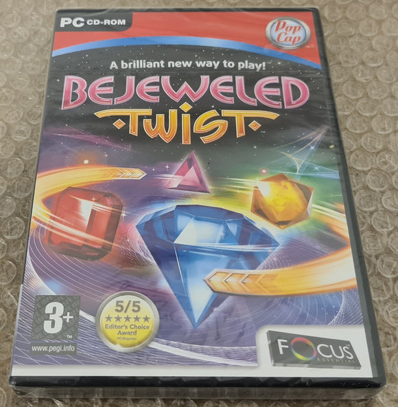 Brand New and Sealed Bejeweled Twist PC Game