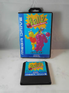 Ballz 3D: The Battle of the Balls Sega Mega Drive Game