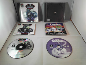 Casper & Casper: Friends Around The World PS1 (Sony PlayStation 1) game bundle