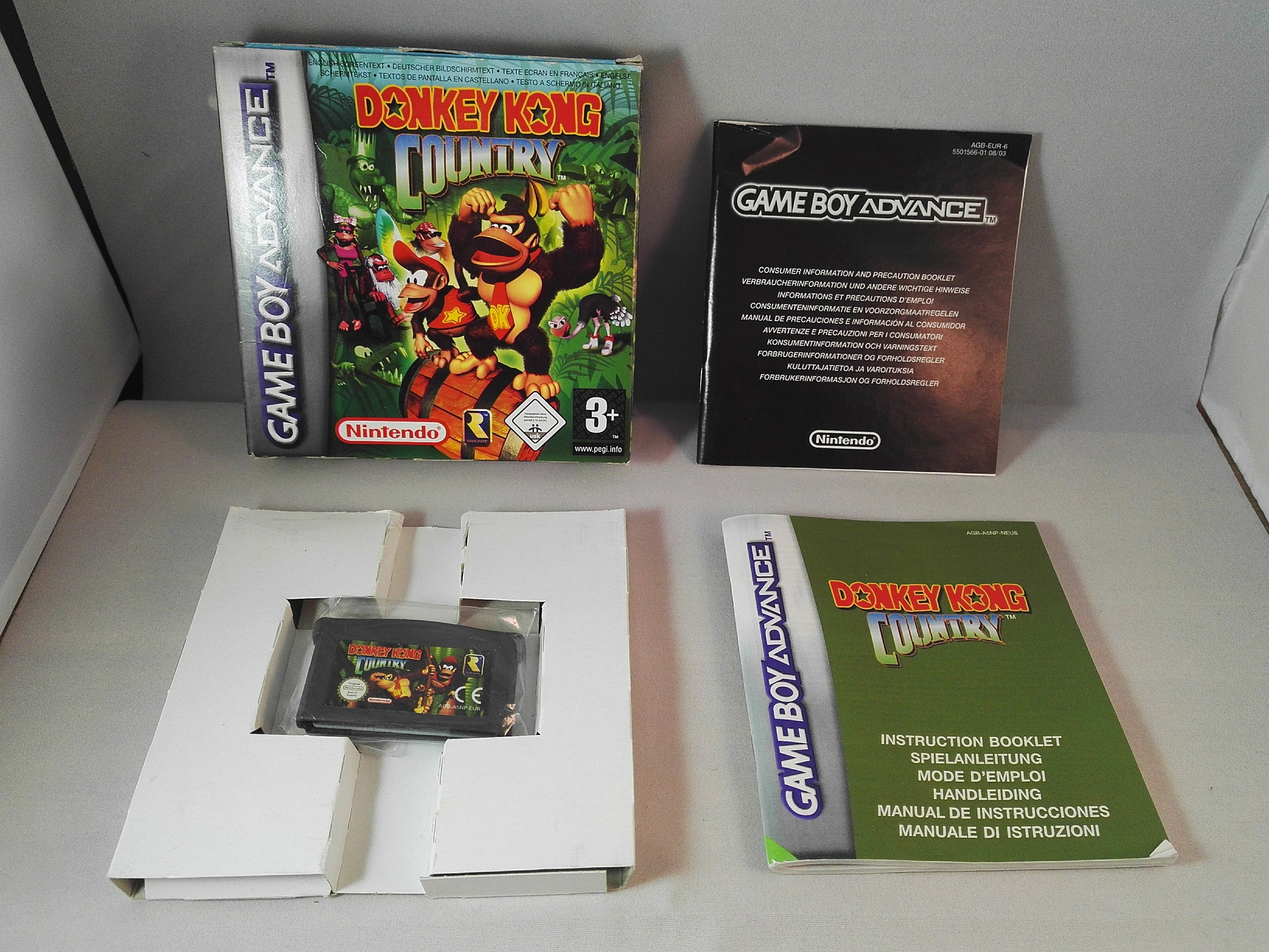Donkey Kong Country (Nintendo Gameboy Advance) game ...