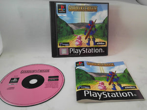 Guardians Crusade PS1 (Sony Playstation 1) Original Black Label game