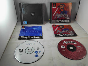 The Adventures of Alundra 1 & 2 (Sony PlayStation 1 game bundle)