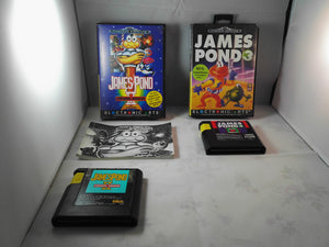 James Pond II & 3 (Sega Mega Drive) game bundle