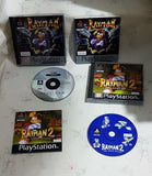 Rayman 1 & 2 PS1 (Sony Playstation 1) game bundle
