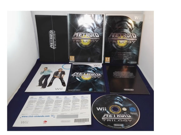 Metroid Prime Trilogy Collectors Edition (Nintendo Wii) game