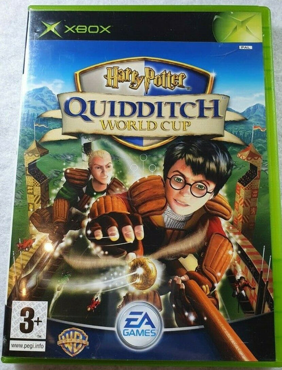 Harry Potter Quidditch World Cup Microsoft Xbox Game