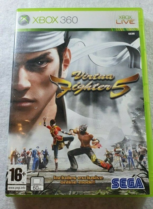 Virtua Fighter 5 Microsoft Xbox 360 Game