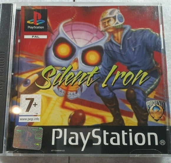 Silent Iron Sony Playstation 1 (PS1) Game