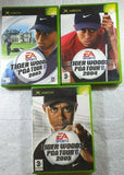 Tiger Woods PGA Tour Bundle: 2003, 2004 and 2005 ALL IN ONE BUNDLE (Xbox)