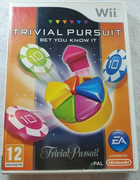 Trivial Pursuit: Bet You Know It (Nintendo Wii, 2011)