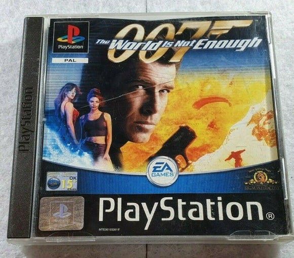 The World is Not Enough Sony Playstation 1 (PS1) Game