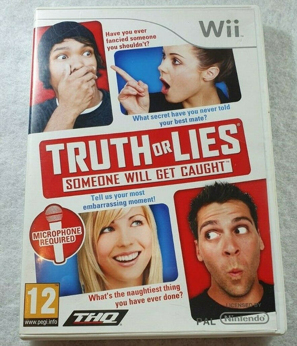 Truth or Lies (Nintendo Wii, 2010)