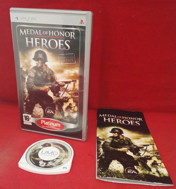 Medal of Honor Heroes Sony PSP Game