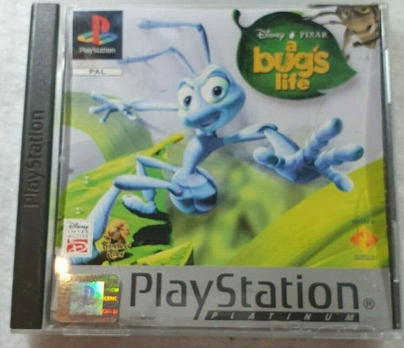 A Bug's Life Platinum Sony Playstation 1 (PS1) Game
