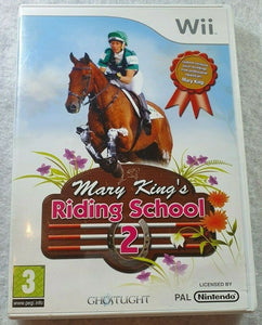Mary King's Riding School 2 (Nintendo Wii)