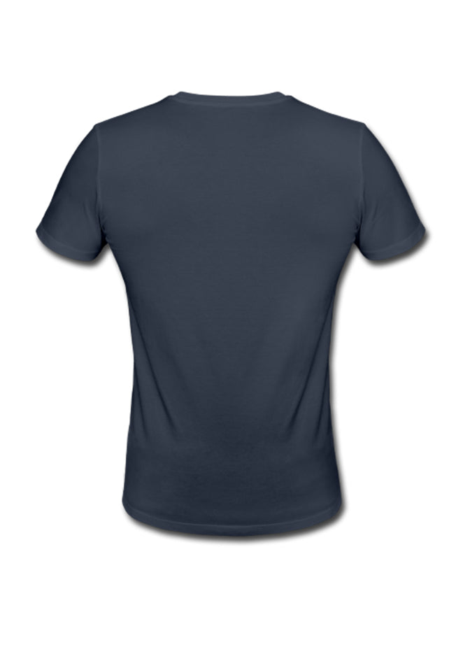 nuffinz tshirt navy blue back