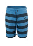 Nuffinz Shorts Organic Cotton The Bluesteel Striped
