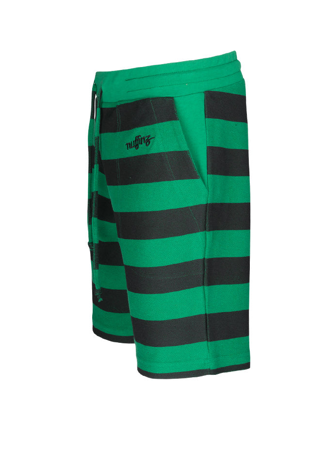 nuffinz the grasshopper striped shorts side