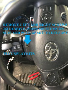 Toyota Rav4 (Push to Start) (2013-2018) Remote Car Starter Plug 'n Play Kit