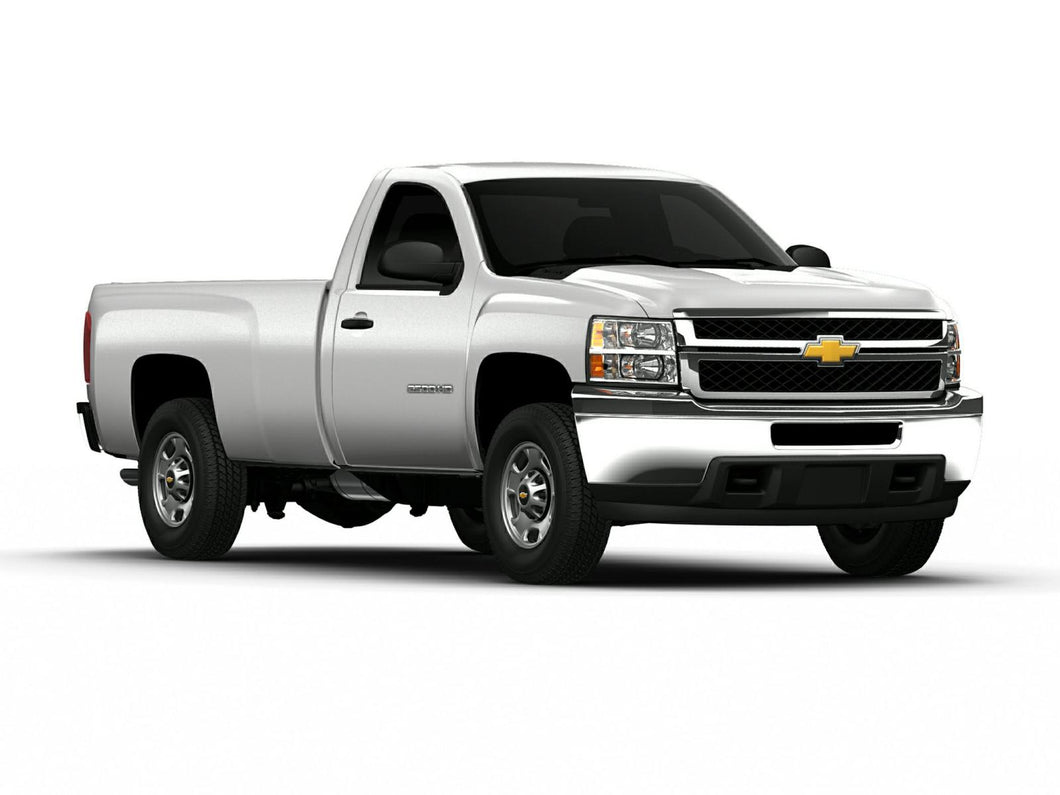 Chevrolet Silverado 2500 (Standard Key) (2007-2014) Remote Car Starter Plug 'n Play Kit