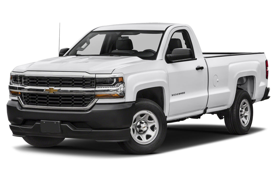 Chevrolet Silverado 1500 (Standard Key) (2014-2018) Remote Car Starter Plug 'n Play Kit