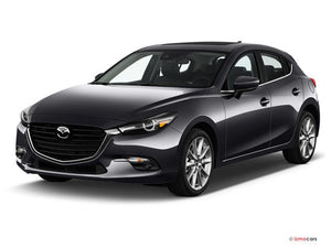 Mazda 3 (Push to Start Manual) (2014-2018) Remote Car Starter Plug 'n Play Kit