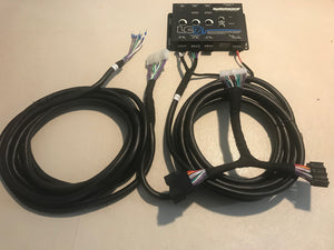 2015 - 2020 Ford Mustang 4 OR 8 Inch Screen Non Amplified Base Model Radio Plug & Play Audio Harnesses: Kits