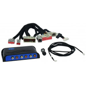 2007 - 2014 FORD AND LINCOLN VEHICLES WITH AMPLIFIED SYSTEMS INTERFACE FOR ADDING AMPS