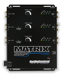 AudioControl Matrix Plus 6 Channel Line Driver with Optical Level Control