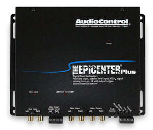 AudioControl The Epicenter Plus Bass Restoration Processor with Aux Input