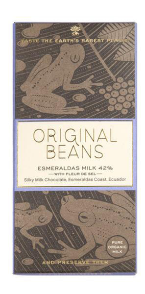 Esmeraldas Milk Bar  (42%) 70 g.