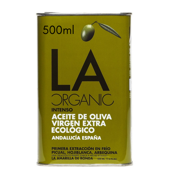 LA Organic Intense Extra Virgin Olive oil 500 ml